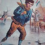 Illustratie uit het boek van de schrijvende tuinder