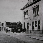 Dit is het postkantoor in Naaldwijk waar Van der Marel werkte van 1930-1936
