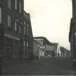 De Heubrug waar het allemaal over gaat, gefotografeerd in de jaren veertig