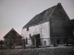 De Vlietwoning zoals ze er in 1951nog uitzag