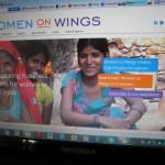 De website van Women on Wings