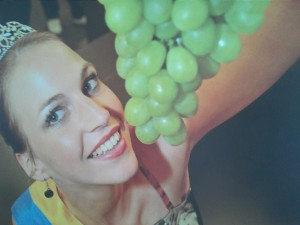 Een van de druivenkoninginnen die België heeft gekend