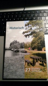 Omslag van het nieuwe jaarboek van het Genootschap Oud Westland