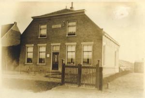 Huize Welgelegen aan de Dijkweg in Naaldwijk waar Jeane Zwinkels woonde.