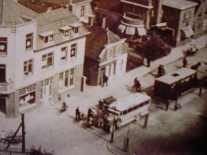 Ook op het Havenplein is er een tijdlang in en uitgestapt inn de WSM-bus