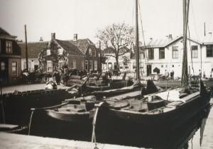 Het eerste kantoor van de Voorschotbank in Naaldwjk