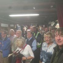 Dat de Historische markt in Wateringen druk is bezocht blijkt wel uit deze foto