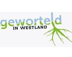 Het bekende logo van Geworteld in westland